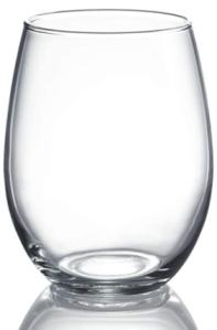 Luminarc Stemless Wine Glass