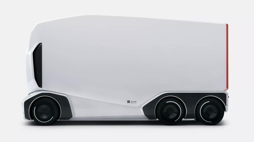 Einride autonomous freight truck