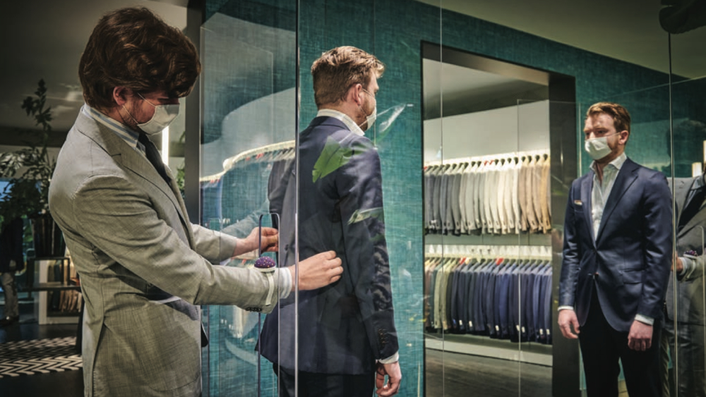 suitsupply safety covid