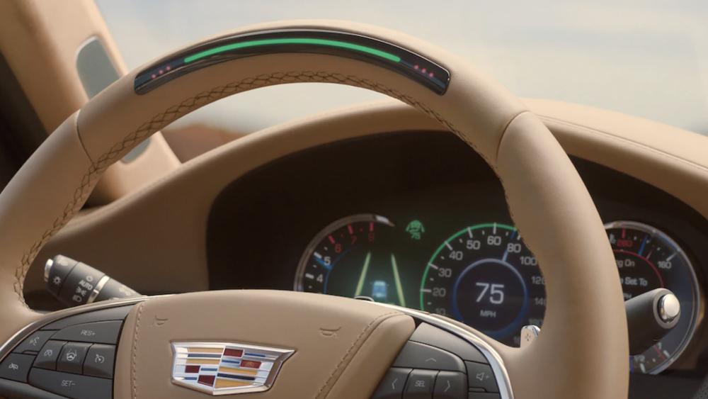 GM Cadillac Super Cruise system
