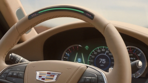GM Cadillac Super Cruise system