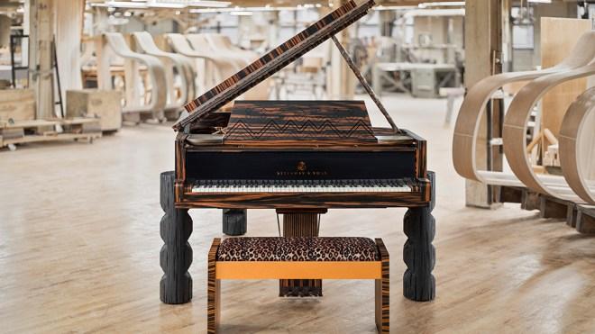 Lenny Kravitz Steinway Piano