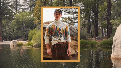 A look from Todd Snyder & L.L. Bean's collaboration