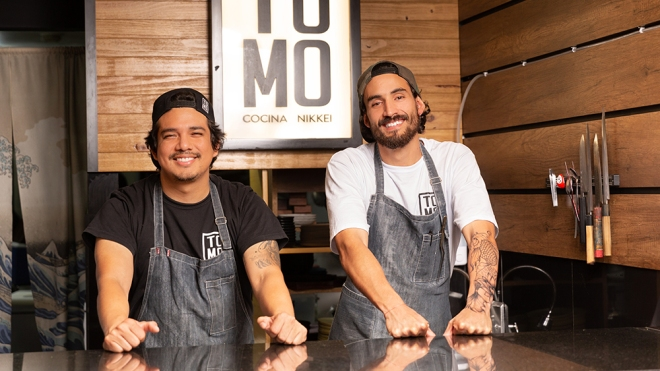 Tomo Cocina Nikkei owners Francisco Sime and Jeremy López