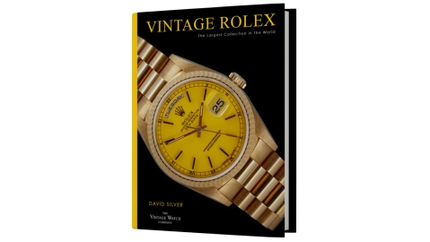 """Vintage Rolex: The Larges Collection in the World"" by David Silver"