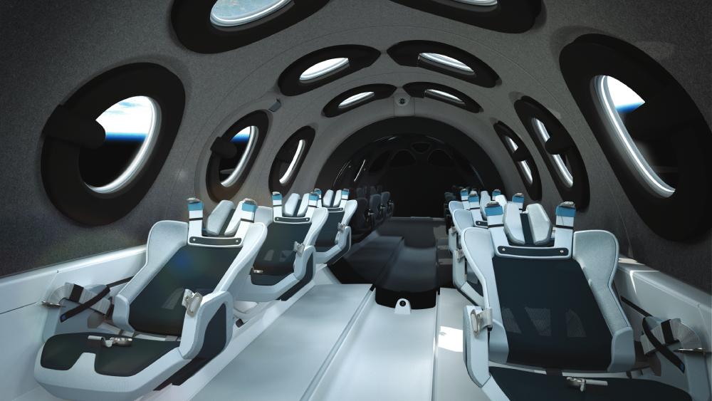 Virgin Galactic Mach 3 jet