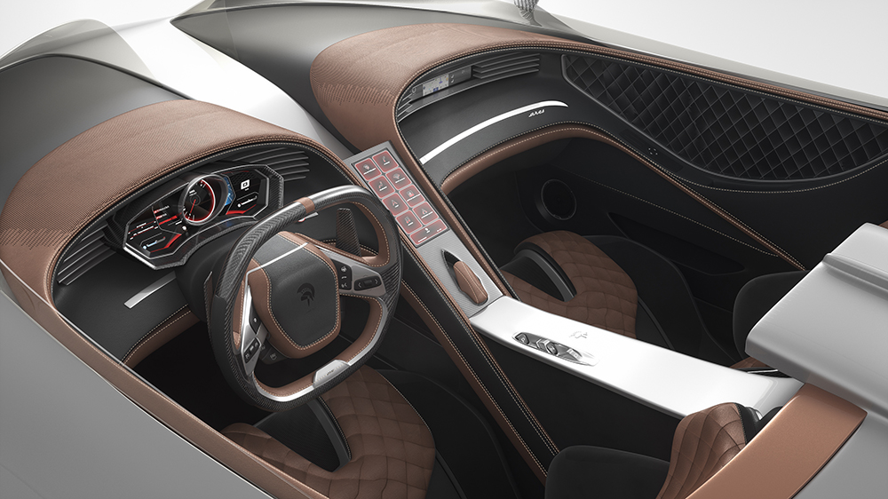 Inside the Ares Design S1 Project Spyder