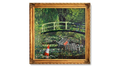 'Show Me the Monet' (2005) by Banksy