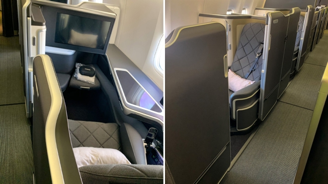 A peek at British Airways new first-class suite