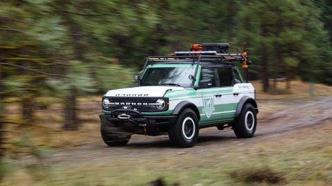 Ford Bronco + Filson Wildland Fire Rig Concept