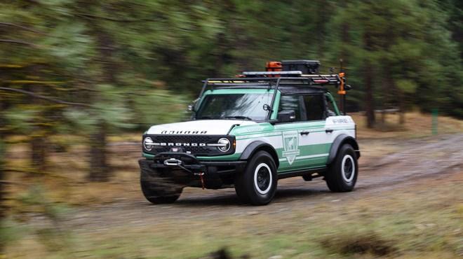 Ford Bronco + Filson Wildland Fire Rig Concept