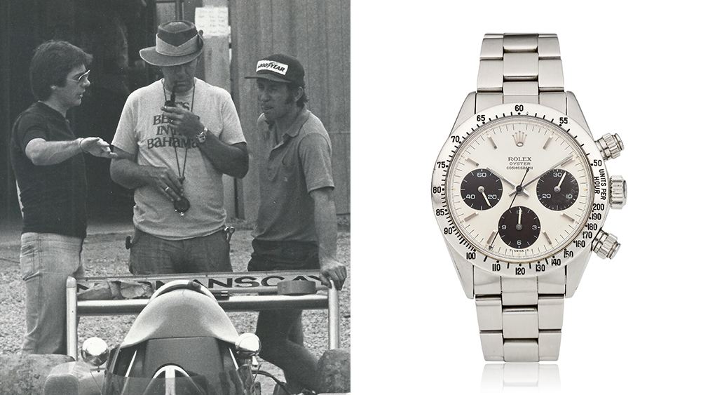 Racing Legend Carroll Smith's Rolex Daytona Is Up for Auction at Christie's