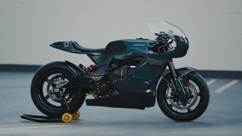 Zero Motorcycles x Deus ex Machina SR/S