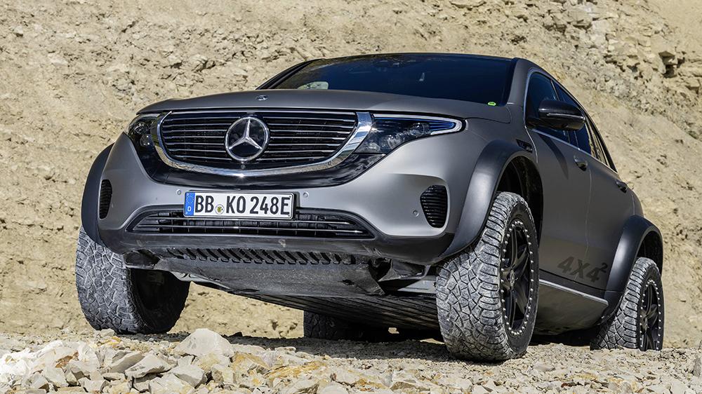 Mercedes-Benz EQC 4x4 Squared Concept