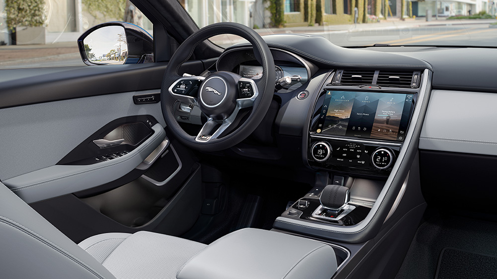Inside the 2021 Jaguar E-Pace crossover