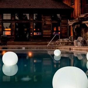 Pop Store Floating Pool Lights