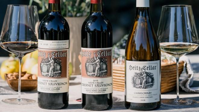 heitz cellar cabernet sauvignon chardonnay
