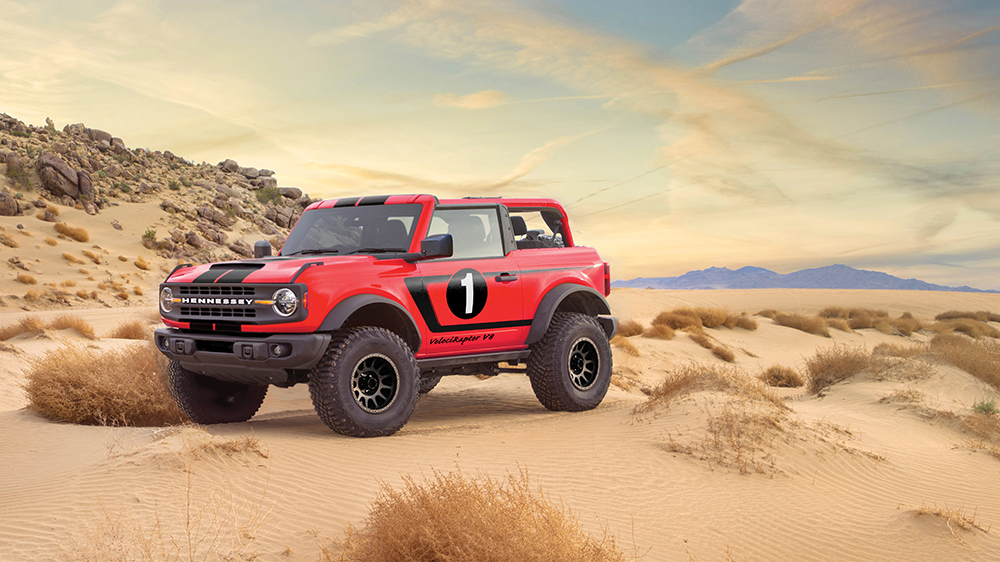 Hennessey's New Souped-Up VelociRaptor V8 Bronco Has 758 HP Under the Hood