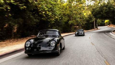 """Emory Motorsports Porsche """"His and Hers"""" 356 Outlaws"""
