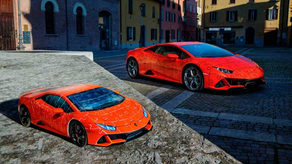 Lamborghini Huracán EVO 3D puzzle