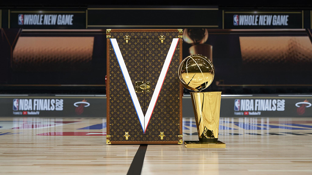 Louis Vuitton's Larry O'Brien NBA Championship Trophy Case