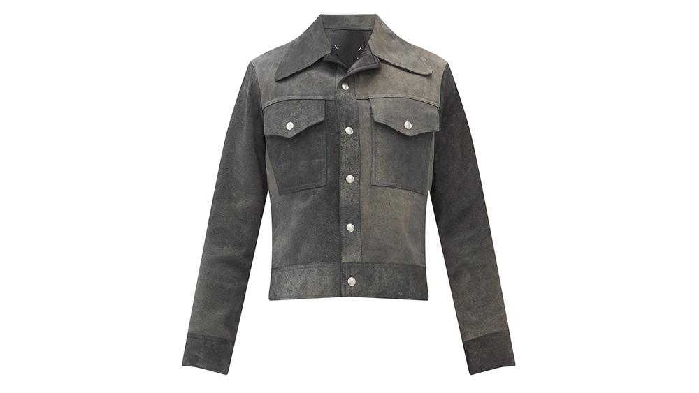 Maison Margiela suede jacket