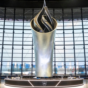 The Las Vegas Raiders's Memorial Torch