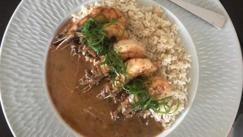 kwame onwuachi shrimp