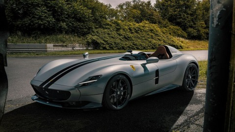 Novitec's modified Ferrari Monza SP1