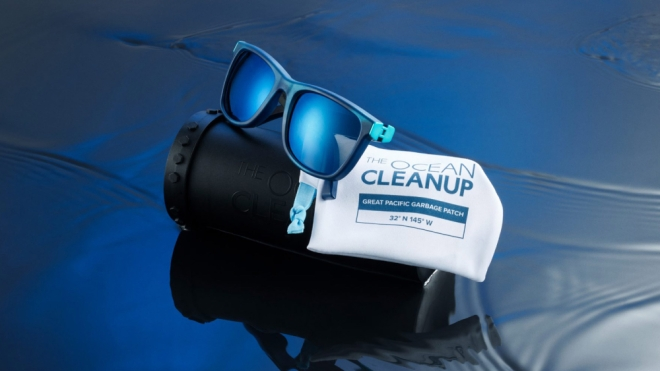 Yves Behar the ocean cleanup sunglasses