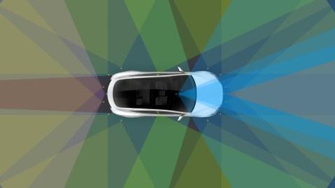 Tesla autopilot testing