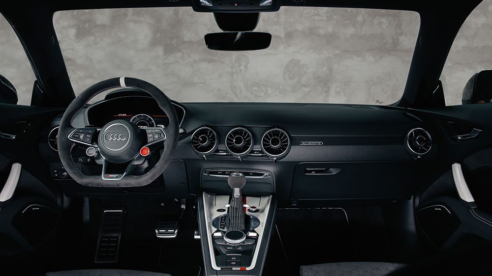 Inside the Audi TT RS 40 Years of Quattro