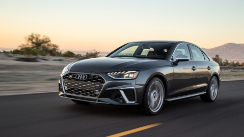 The 2020 Audi S4.