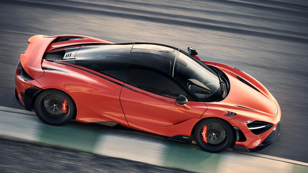The McLaren 765LT supercar.