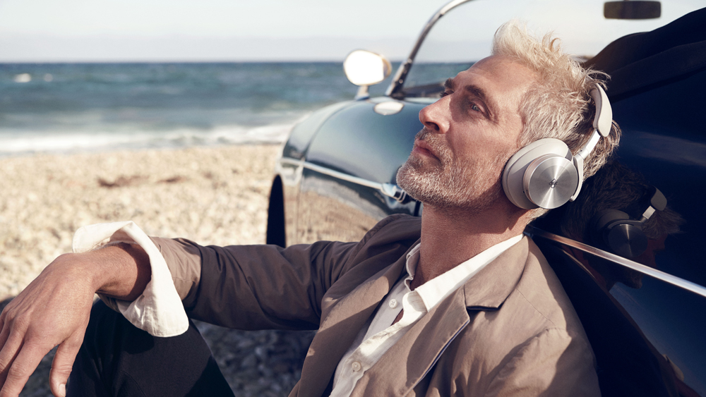 Bang & Olufsen's Beoplay H95 wireless noise-cancelling headphones.