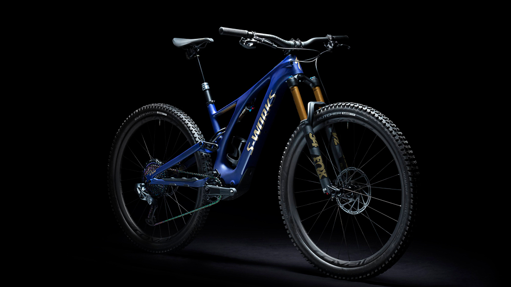 The carbon-framed Specialized Levo SL electric bike.