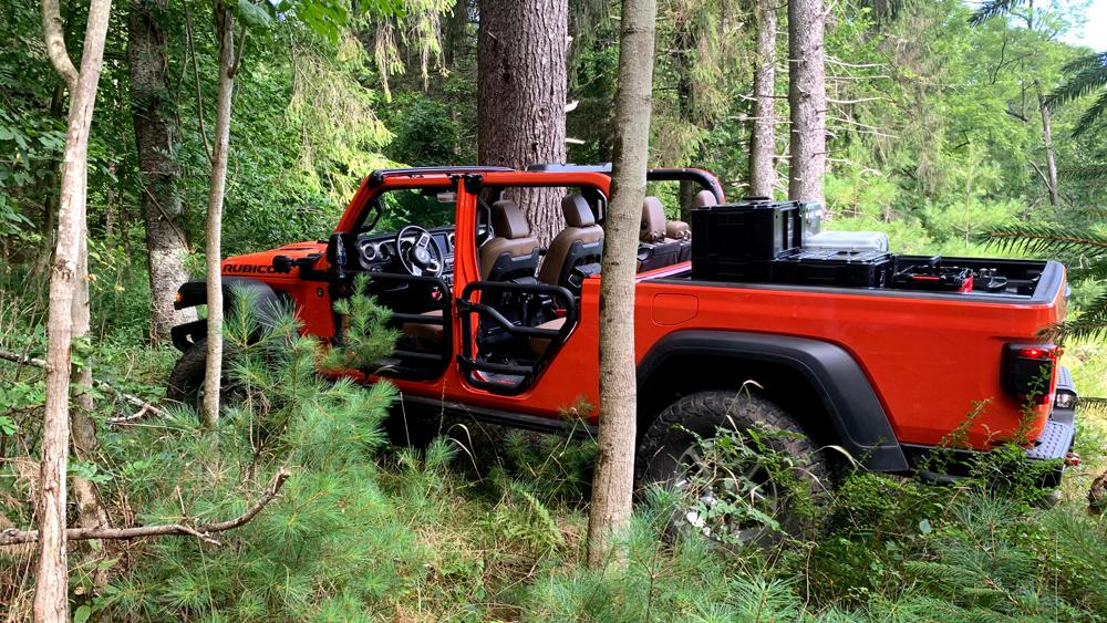 The Jeep Gladiator Rubicon.