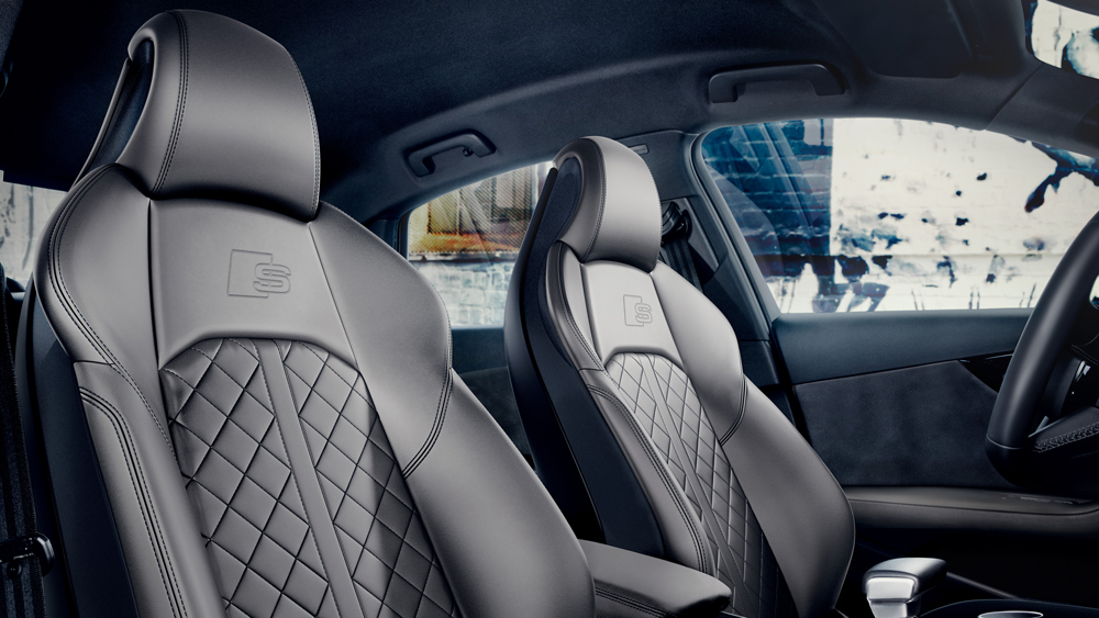 Inside the 2020 Audi S4.