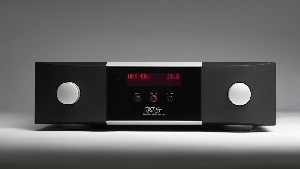 The Mark Levinson No.5206 preamplifier, priced at $9,000.
