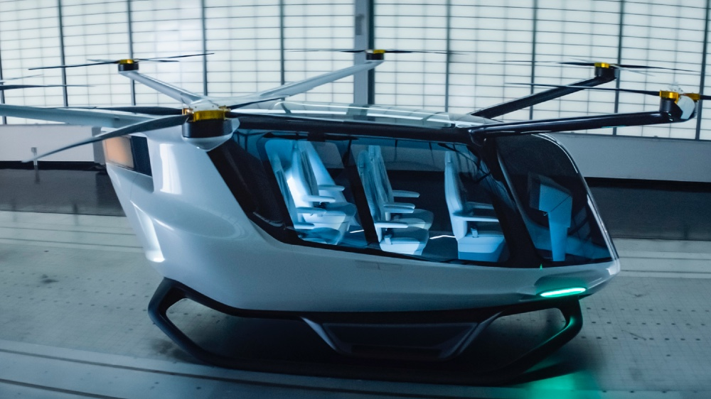 Alaka'I Technologies, which has a futuristic-looking, hydrogen-powered air taxi, has joined the NASA program