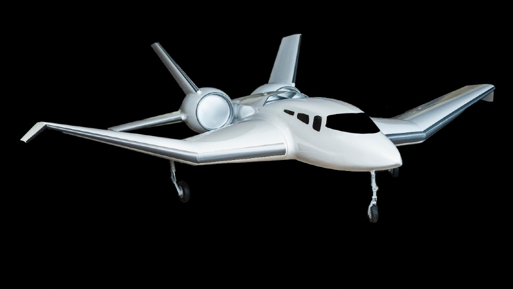 Pegasus vertical business jet flies like a traditional airplane but can take off and land like a VTOL