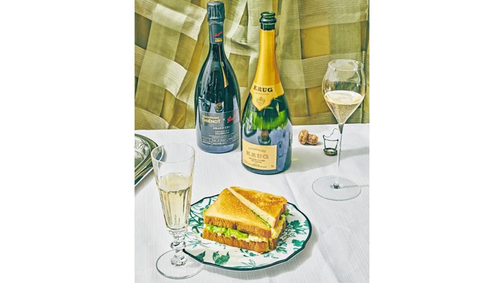 everyday champagne egg salad Krug Grande Cuvée 168th Edition Champagne Thiénot x Penfolds 2012 Blanc de Blancs Avize Grand Cru