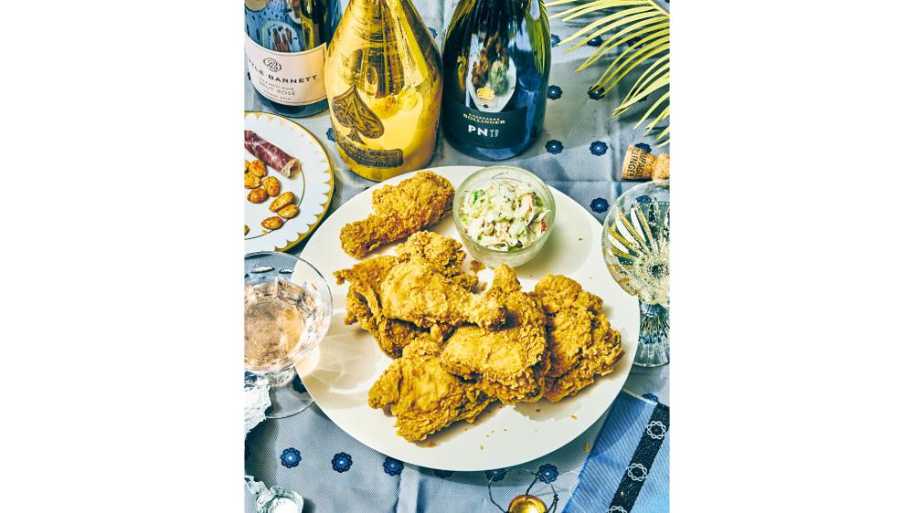 everyday champagne fried chicken Armand de Brignac Brut Gold Lytle-Barnett 2013 Brut Rosé Champagne Bollinger PN VZ15