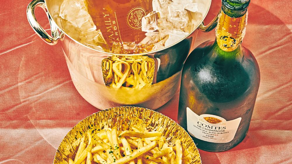 Taittinger 2008 Comtes de Champagne Blanc de Blancs Frank Family Vineyards Brut Rosé, Carneros