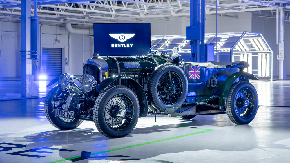 The Bentley Team Blower Continuation.