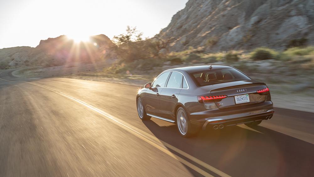 The 2020 Audi S4.