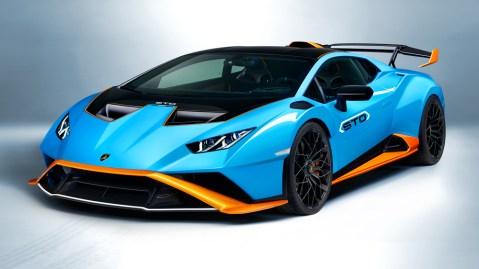The Lamborghini Huracán STO.
