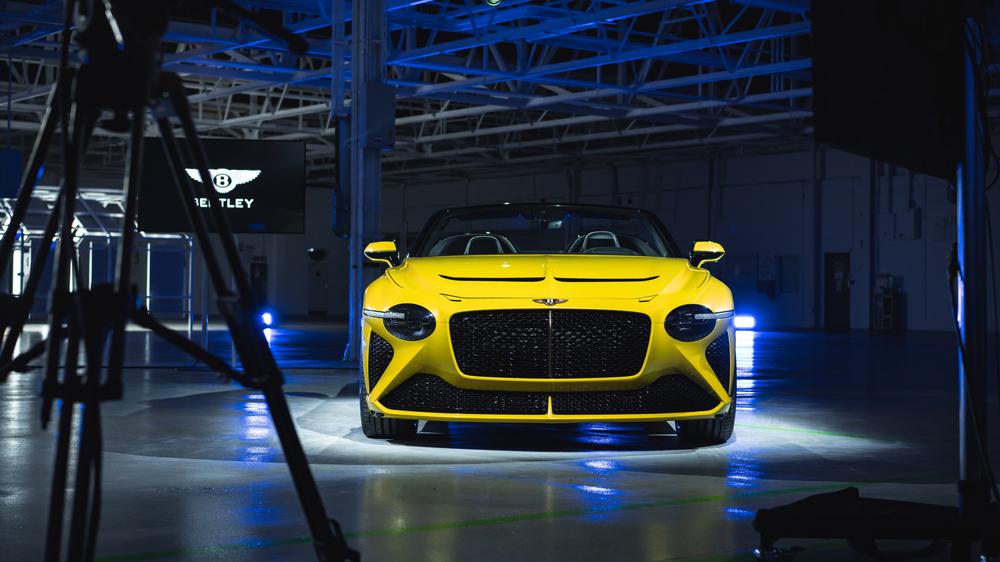 The Bentley Bacalar.