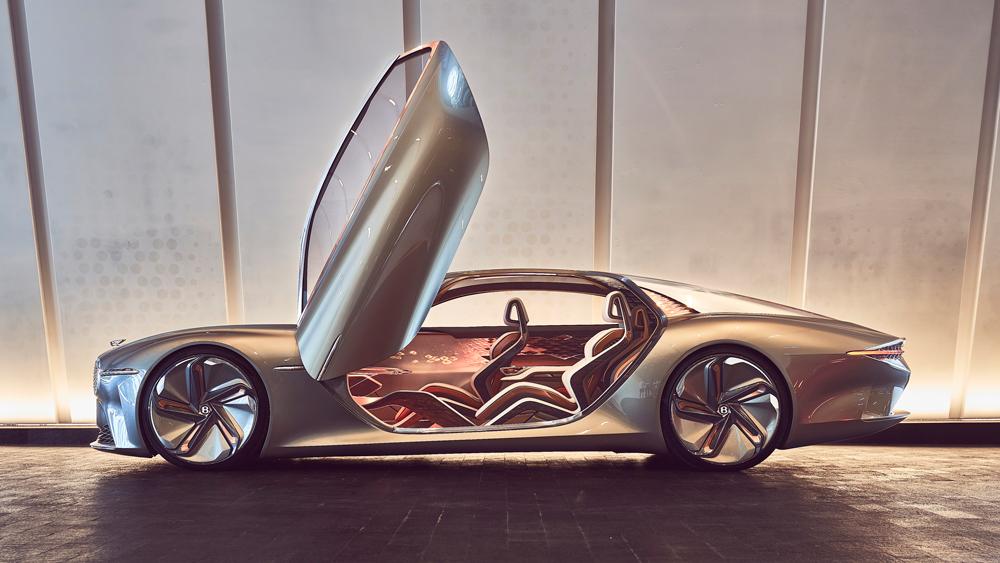 The Bentley EXP 100 GT concept car.