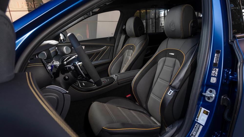The Mercedes-AMG E 63 S Wagon.